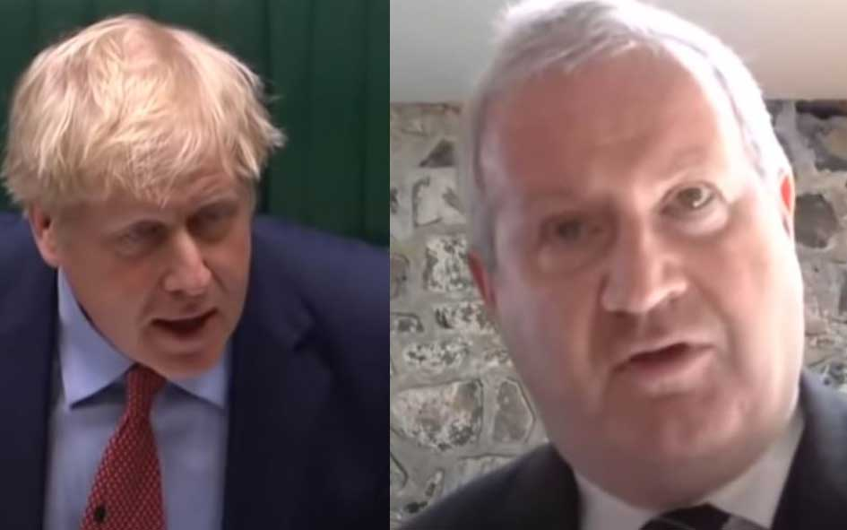 Boris Johnson and Ian Blackford - Prime Minister: Engagements (8 Jul 2020)
